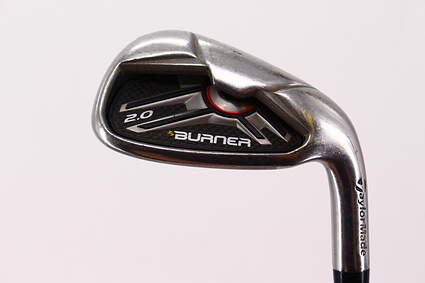 TaylorMade Burner 2.0 Single Iron Pitching Wedge PW TM Burner 2.0 85 Steel Stiff Right Handed 35.75in