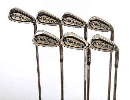 Mizuno 2015 JPX EZ Forged Iron Set 5-GW FST KBS Tour 90 Steel Stiff Right Handed 38.0in