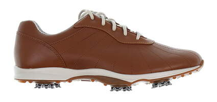 New Womens Golf Shoe Footjoy emBody Medium 9.5 Brown MSRP $130 96106