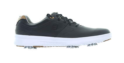 New Mens Golf Shoe Footjoy 2019 Contour Series Medium 10 Black MSRP $130 54180