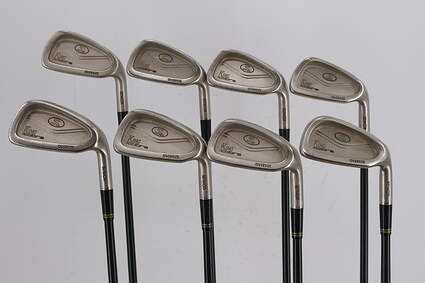 Cobra King Cobra Oversize Senior Iron Set 3-PW Stock Graphite Shaft Graphite Senior Right Handed 38.75in