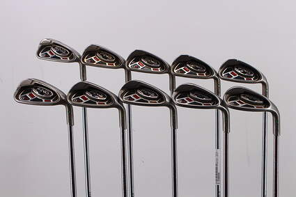 Ping G15 Iron Set 4-LW AWT 2.0 Steel Stiff Right Handed Green Dot 37.75in
