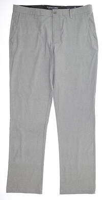 New Mens MATTE GREY Traveler Golf Pants 36 Opal Gray MSRP $110 154105