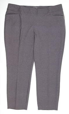 New Womens Adidas Pull On Ankle Pants X-Large XL Purple MSRP $75 BC1110