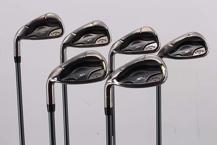 Callaway Steelhead XR Iron Set 5-PW Matrix Ozik Program F15 Graphite Regular Left Handed 38.0in