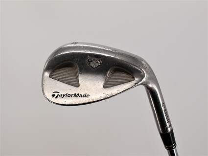 TaylorMade Rac Satin Tour TP Wedge Sand SW 56° 12 Deg Bounce Stock Steel Shaft Steel Wedge Flex Right Handed 35.5in