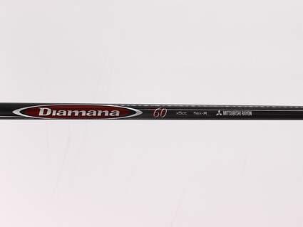 Used W/ Adapter Mitsubishi Rayon Diamana M+ 60 Limited Edition Fairway Shaft Regular 42.0in