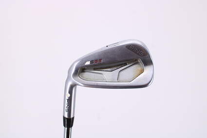 Ping S55 Single Iron 7 Iron Ping CFS Steel Stiff Left Handed White Dot 37.0in