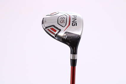 Ping G15 Draw Fairway Wood 4 Wood 4W 17° Ping TFC 149F Graphite Regular Right Handed 42.75in