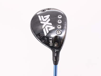 PXG 0341 X Gen2 Fairway Wood 7 Wood 7W 21° Fujikura Speeder Evol V 474 Graphite Senior Right Handed 42.5in