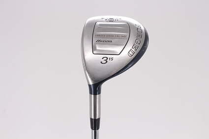 Mizuno T-Zoid Forged Fairway Wood 3 Wood 3W 15° Dynamic Gold Sensicore R300 Steel Regular Left Handed 42.0in