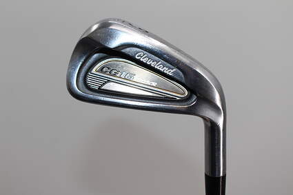 Cleveland CG16 Tour Satin Chrome Single Iron 6 Iron 30° True Temper Dynamic Gold S300 Steel Stiff Right Handed 38.0in