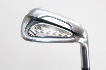 Cleveland CG16 Tour Satin Chrome Single Iron Pitching Wedge PW 46° True Temper Dynamic Gold S300 Steel Stiff Right Handed 35.75in