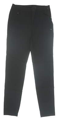 New Womens Ralph Lauren RLX Pants 4 Black MSRP $105