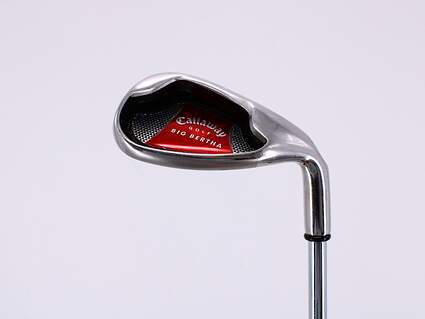 Callaway 2008 Big Bertha Wedge Sand SW Callaway Stock Steel Steel Uniflex Right Handed 34.5in