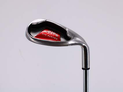 Callaway 2008 Big Bertha Wedge Lob LW Callaway Stock Steel Steel Uniflex Right Handed 34.5in