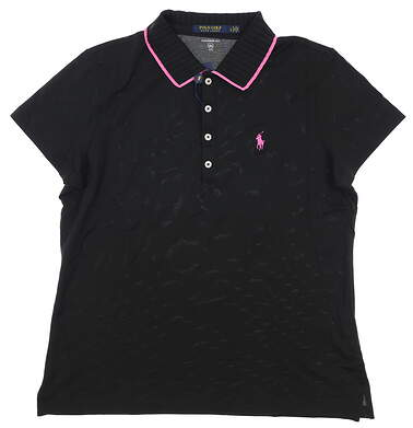 New Womens Ralph Lauren Polo Large L Black MSRP $85