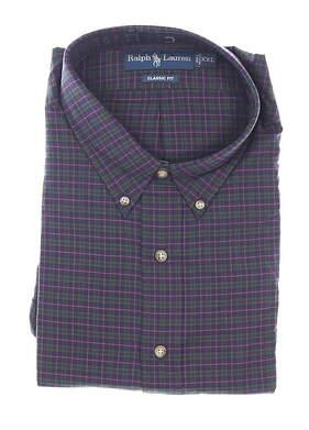 New Mens Ralph Lauren Classic Button Up XX-Large XXL Multi MSRP $90