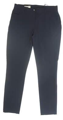 New Womens J. Lindeberg Jasmine Micro Stretch Pants 29 (US 8) Navy Blue MSRP $145