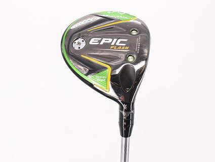 Callaway EPIC Flash Fairway Wood 7 Wood 7W 20° Project X Even Flow Green 55 Graphite Senior Right Handed 42.5in