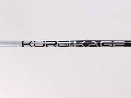 Used W/ Adapter Mitsubishi Rayon Kuro Kage Silver Dual Core Driver Shaft Regular 45.5in