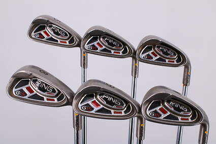 Ping G15 Iron Set 5-PW Ping AWT Steel Regular Right Handed Yellow Dot 38.25in