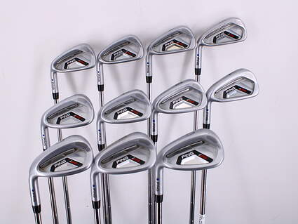 Ping I25 Iron Set 3-LW Ping CFS Steel Stiff Left Handed Blue Dot 37.75in