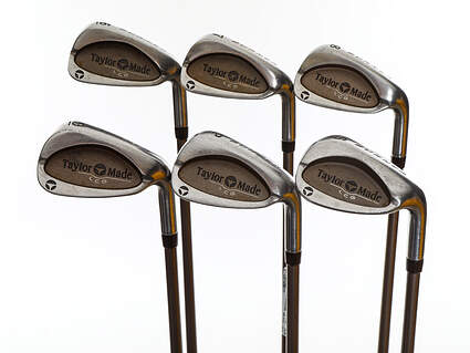 TaylorMade Burner LCG Iron Set 6-PW SW TM Bubble 2 Graphite Ladies Right Handed 36.75in