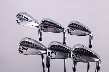 PXG 0311XF Chrome Iron Set 6-PW GW Project X LZ 5.0 Steel Regular Right Handed 37.5in
