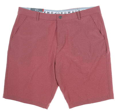 New Mens Puma Shorts 40 Red MSRP $70 577908 05