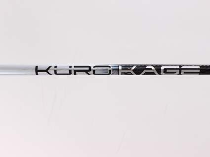 Used W/ Adapter Mitsubishi Rayon Kuro Kage Silver Dual Core Driver Shaft Regular 45.25in