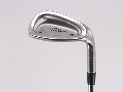 Titleist DCI 981 Single Iron Pitching Wedge PW Dynamic Gold Sensicore R300 Steel Regular Right Handed 36.0in