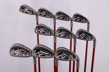 Ping G15 Iron Set 3-LW Graphite Stiff Right Handed Black Dot 37.75in