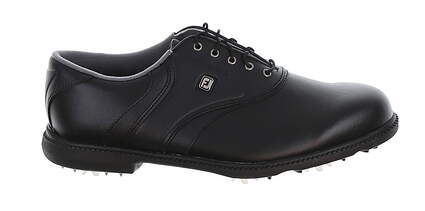 New Mens Golf Shoe Footjoy FJ Originals Wide 8 Black MSRP $80 45331