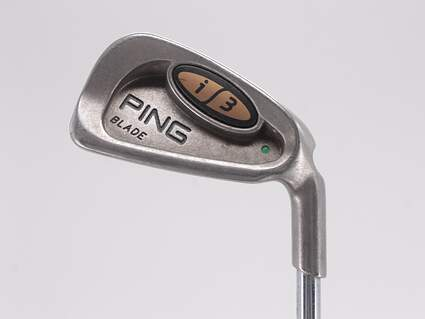 Ping i3 Blade Single Iron 3 Iron Ping JZ Steel Stiff Right Handed Green Dot 39.5in