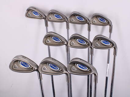 Ping i5 Iron Set 4-LW True Temper Steel Stiff Right Handed Blue Dot 37.75in