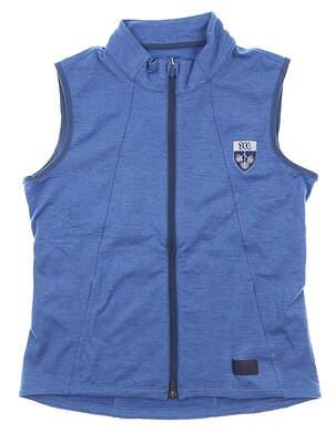 New W/ Logo Womens Puma Vest Medium M Blue MSRP $70 595852 02