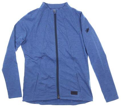 New W/ Logo Womens Puma Jacket Small S Blue MSRP $80 595850 03