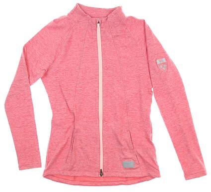 New W/ Logo Womens Puma Jacket X-Small XS Pink MSRP $70 595850 04