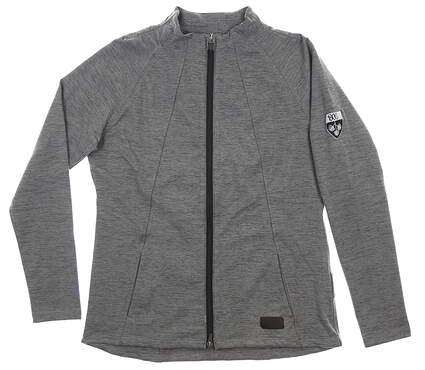 New W/ Logo Womens Puma Jacket Medium M Gray MSRP $80 595850 01
