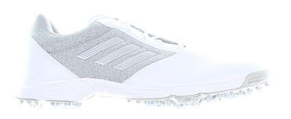 New Womens Golf Shoe Adidas Tech Response Medium 9.5 White/Grey MSRP $60 BD7147