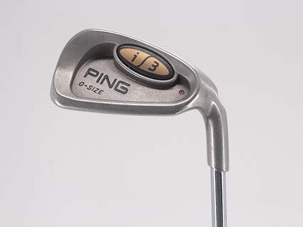 Ping i3 Oversize Single Iron 8 Iron Ping JZ Steel Stiff Right Handed Red dot 36.75in
