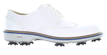 New Mens Golf Shoe Ecco Lux 41(7-7.5) White MSRP $240 14250450874