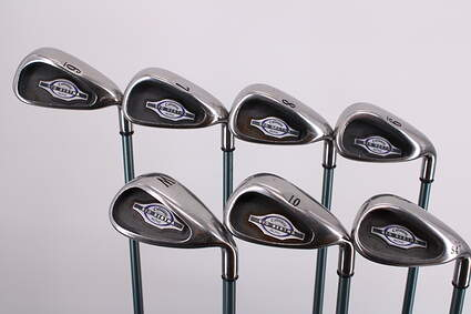Callaway 2002 Big Bertha Iron Set 6-PW GW SW Callaway Gems Graphite Ladies Right Handed 36.5in