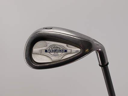 Callaway X-14 Single Iron Pitching Wedge PW 48° Callaway Stock SteelHead Graphite stiff Right Handed 35.50