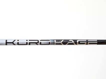 Used W/ Adapter Mitsubishi Rayon Kuro Kage Black TiNi Driver Shaft Regular 44.25in