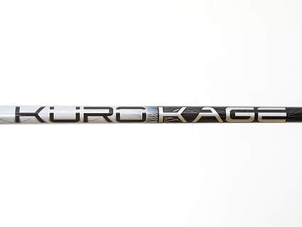 Used W/ Adapter Mitsubishi Rayon Kuro Kage Black TiNi Driver Shaft Stiff 44.25in