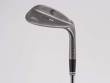 Cleveland CG12 Black Pearl Wedge Gap GW 52° 10 Deg Bounce Cleveland Traction Wedge Steel Wedge Flex Right Handed 35.75in