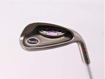 Ping Rhapsody Wedge Gap GW Ping ULT 129I Ladies Graphite Ladies Right Handed Red dot 35.0in
