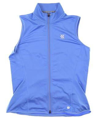 New W/ Logo Womens Puma Vest X-Large XL Blue MSRP $65 595446 04
